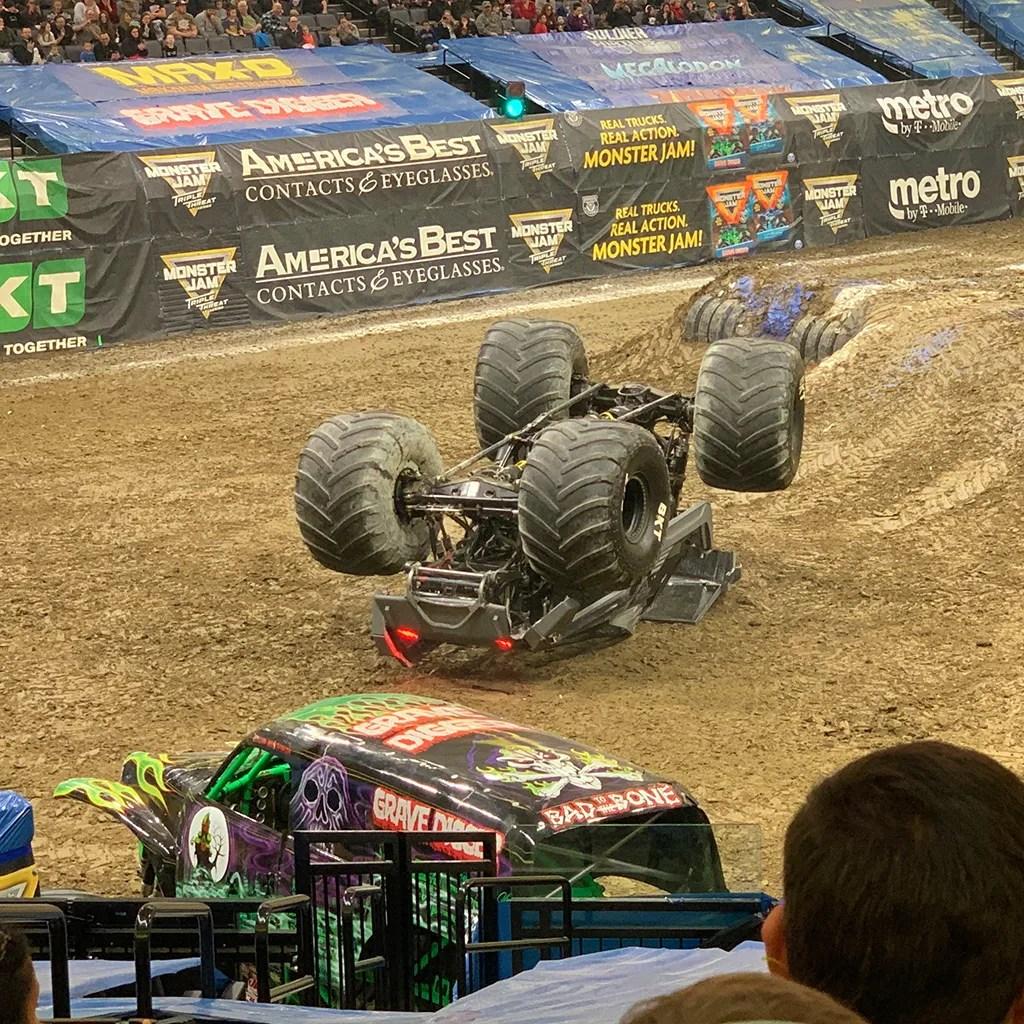 Black Ops Monster Jam Crash
