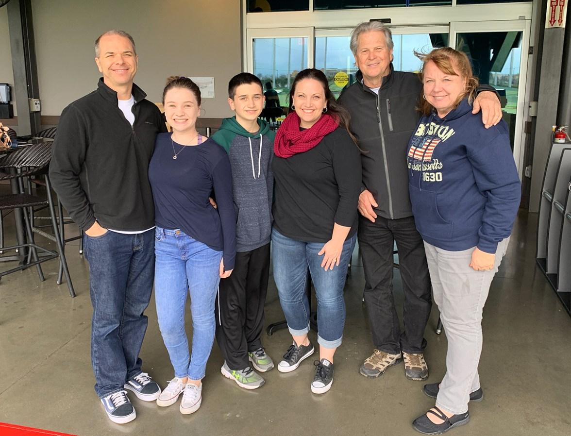 Bourn Family at Topgolf Roseville
