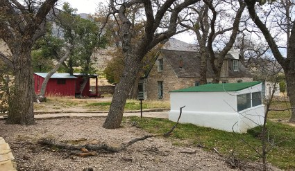 Frijole Ranch Cultural Museum at Guadalupe Mountains National Park