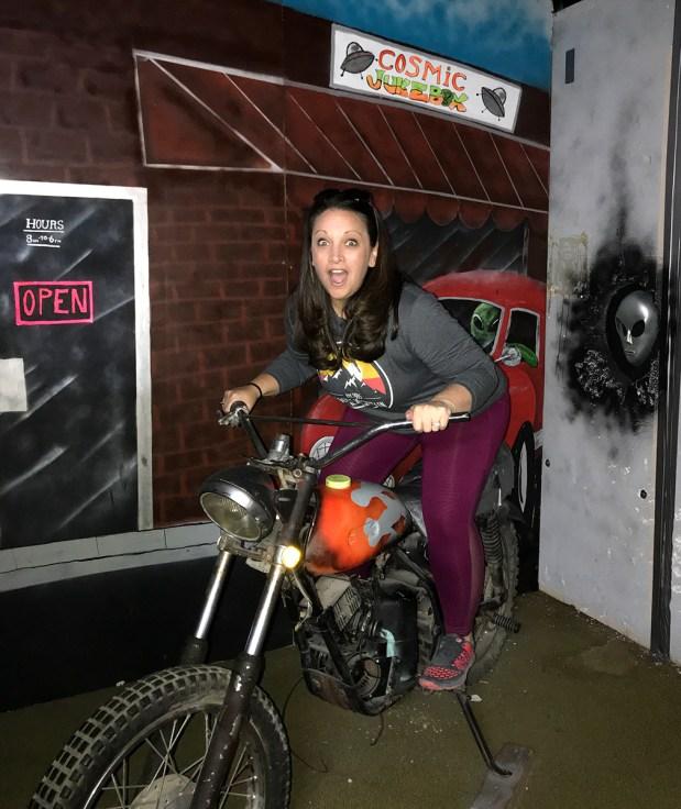 Jennifer Bourn Alien Escape