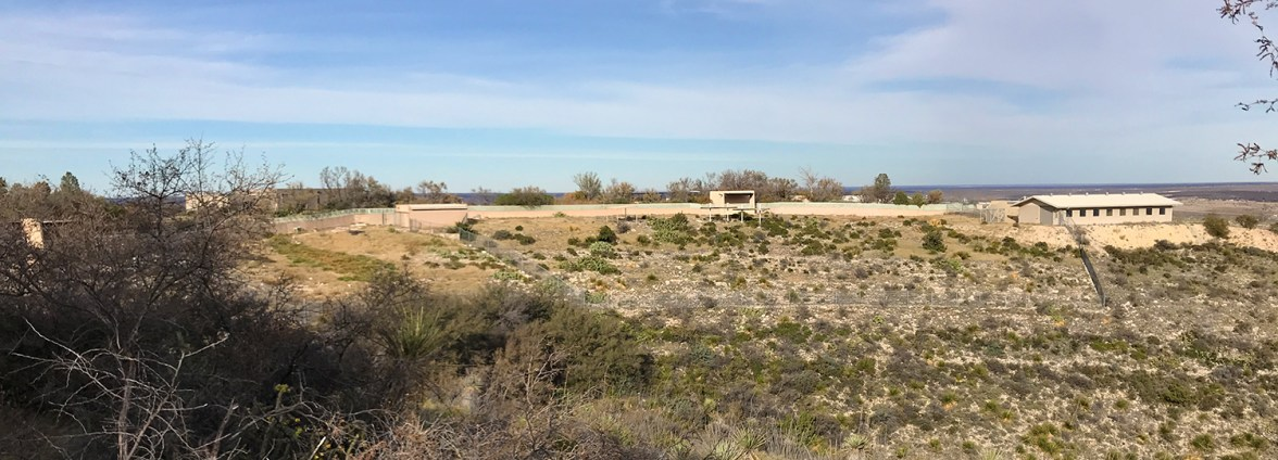 Living Desert Zoo Hoofstock Enclosures