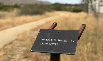 Manzanita Spring and Smith Spring Trails