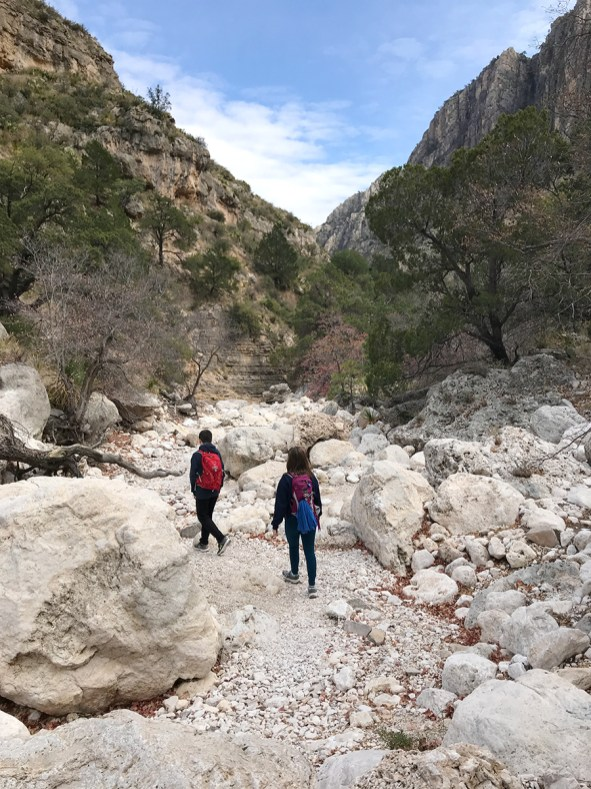 Navigating Rocks, Boulders, and Gravel While Hiking