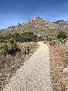 Pinery Trail and Pine Springs in Guadalupe Mountains National Park