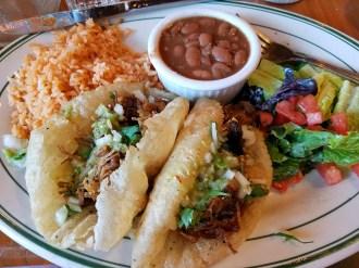 Carnitas Puffy Tacos