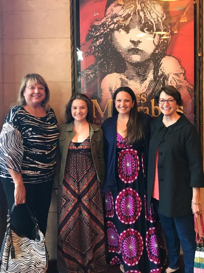 Girls Night at Les Miserables in San Francisco