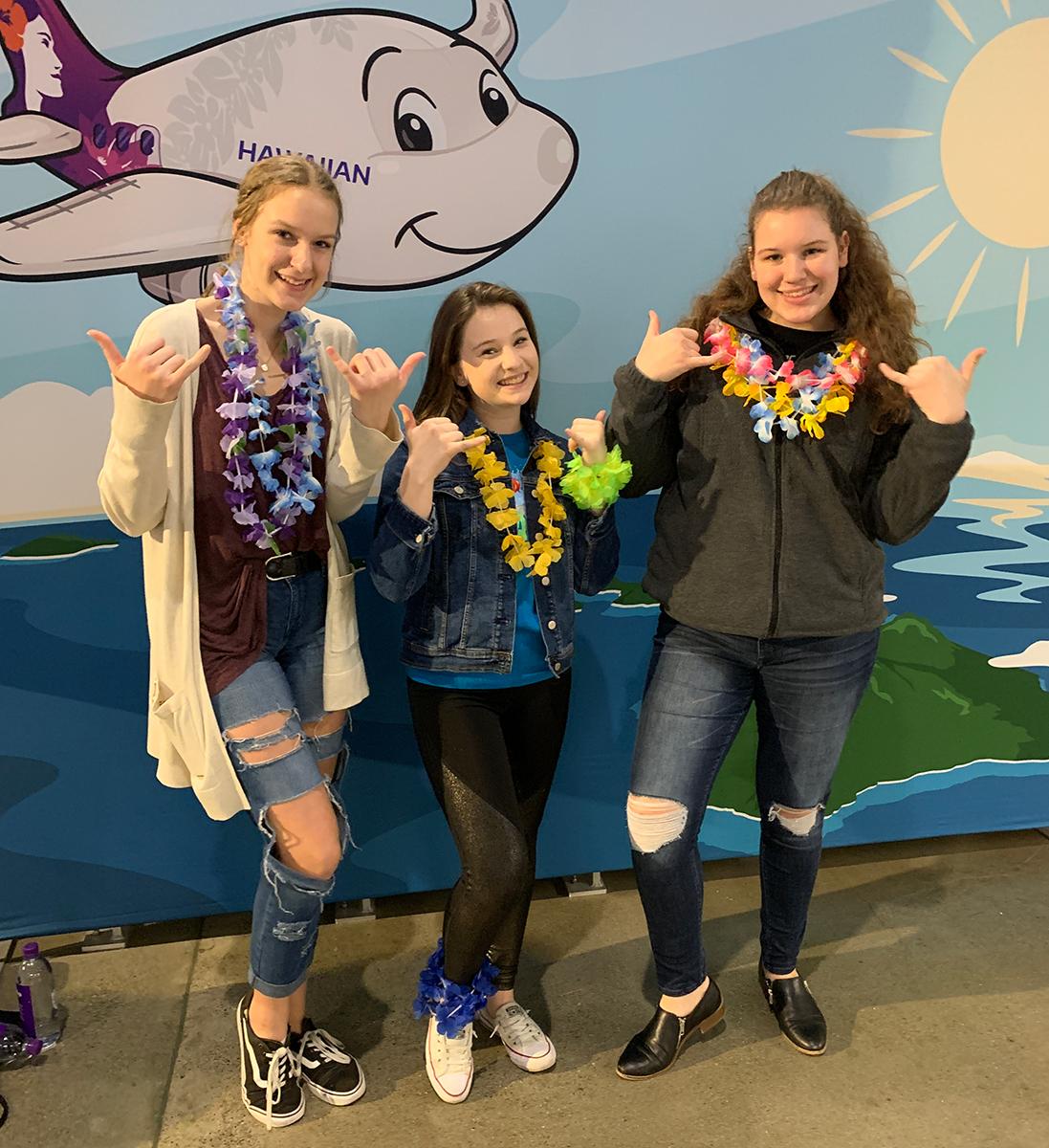 Hawaiian Themed Disney On Ice Event Featuring Moana