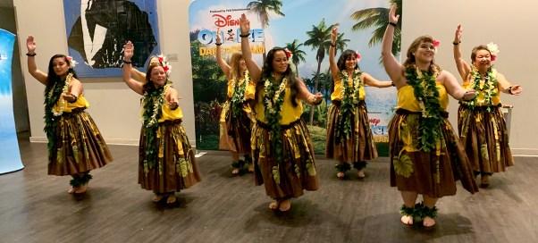 Hula Dancers Performing