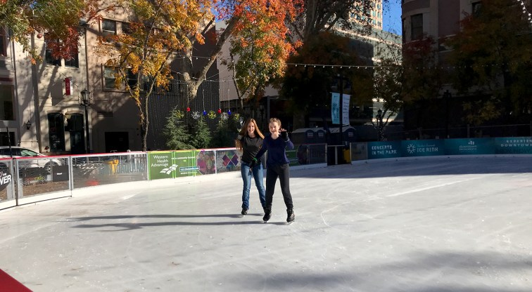 Ice Skating in Downtown Sacramento