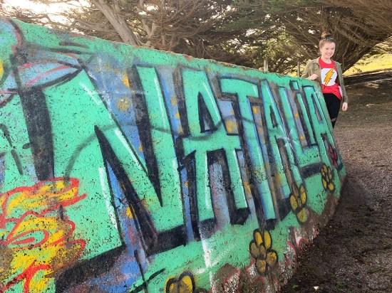 Natalie Bourn and The Mori Park Graffiti