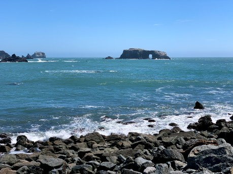 Arch Rock View From Goat Rock
