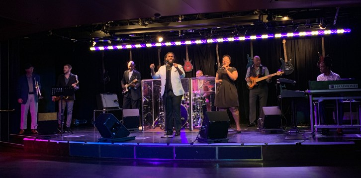 BB King Jazz Club Aboard the Holland America Cruiseline