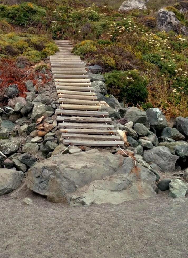 Blind Beach Trail Steps