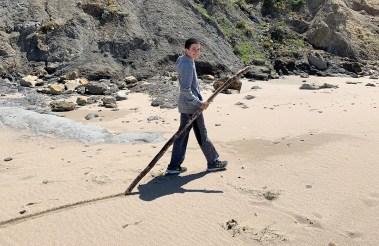 Carter Bourn Dragging Driftwood