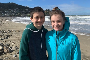Carter and Natalie Bourn in Pacifica