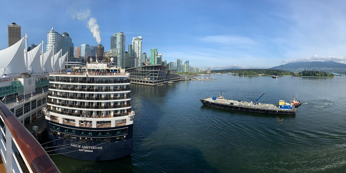 Cruise Ship Terminal In Vancouver, Canada