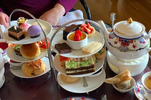 Empress Hotel High Tea Food