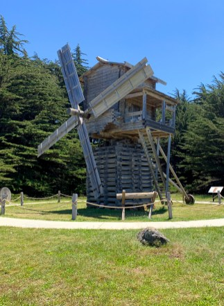 California's First Windmill