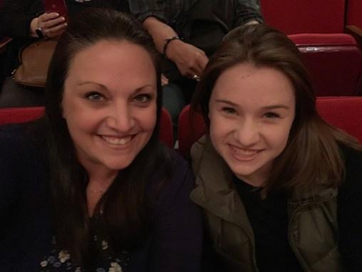 Jennifer and Natalie Pre-show Photo