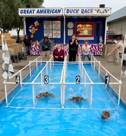 Sacramento County Fair Show: Great American Duck Race
