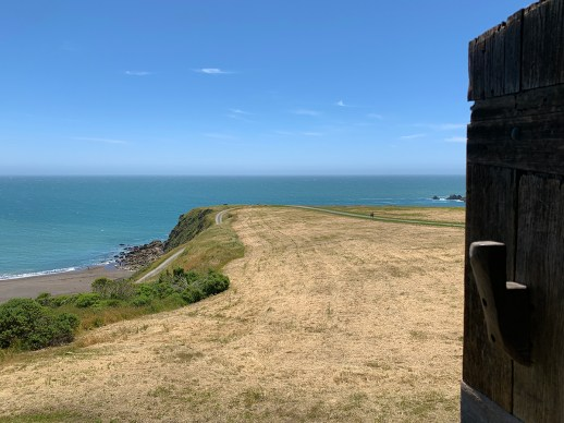 View From The Cannon Tower at Fort Ross