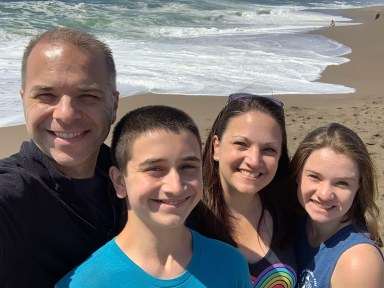 Bourn Family at Point Reyes North Beach