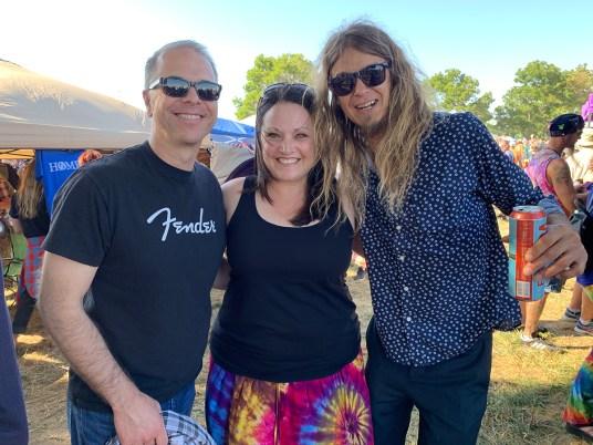 Brian and Jennifer Bourn With Matt Rainey