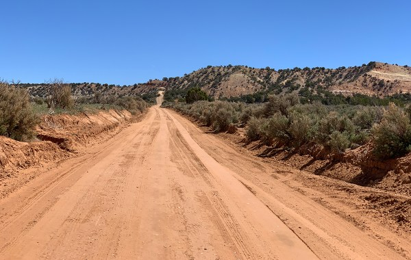 Dirt Road To Grosvenor Arch
