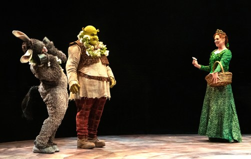 Music Circus Debuts Shrek With Donkey and Fiona