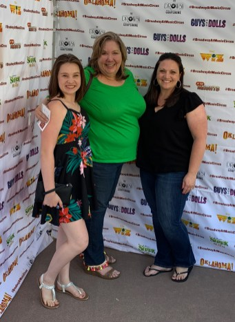 Natalie Bourn, Jennifer Bourn, and Julie Gallaher