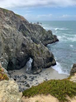 Rock Arch At Bodega Head