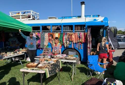 Shoreline Amphitheater Shakedown Street Vendor