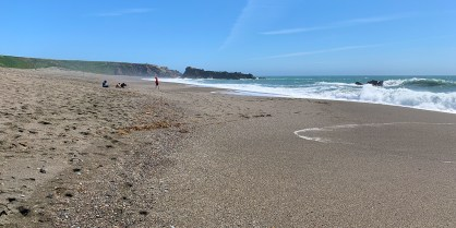 Wright's Beach Near Jenner, California