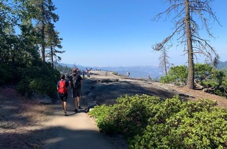 Walking to Beetle Rock