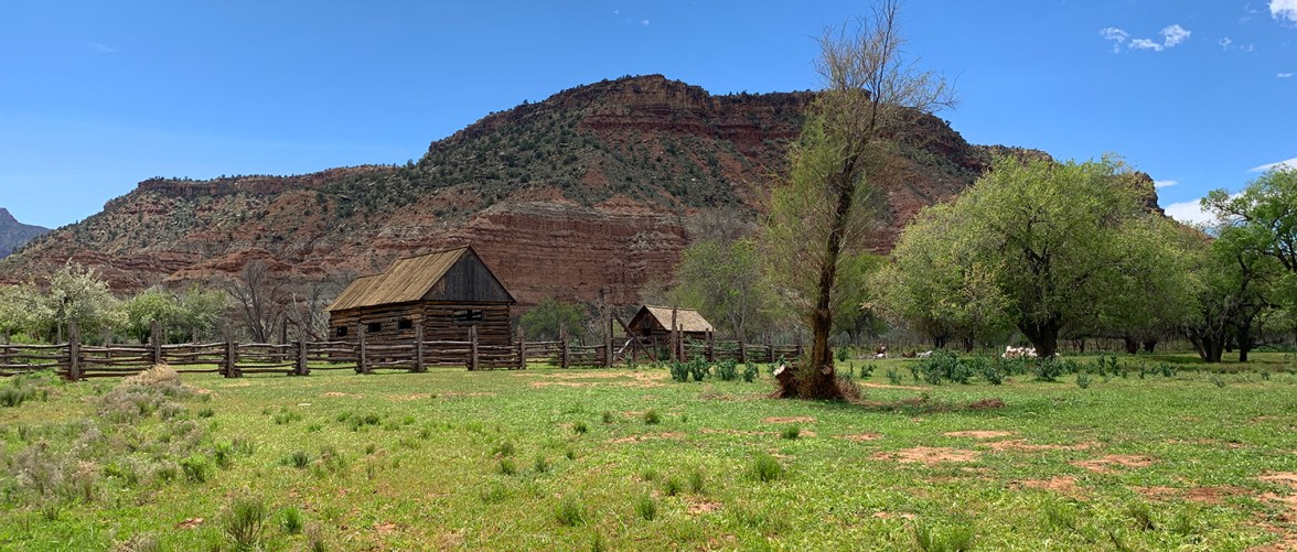 Historic Ghost Town Near Zion National Park