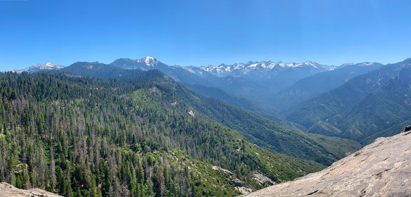 Mountain Views in Sequoia National Park