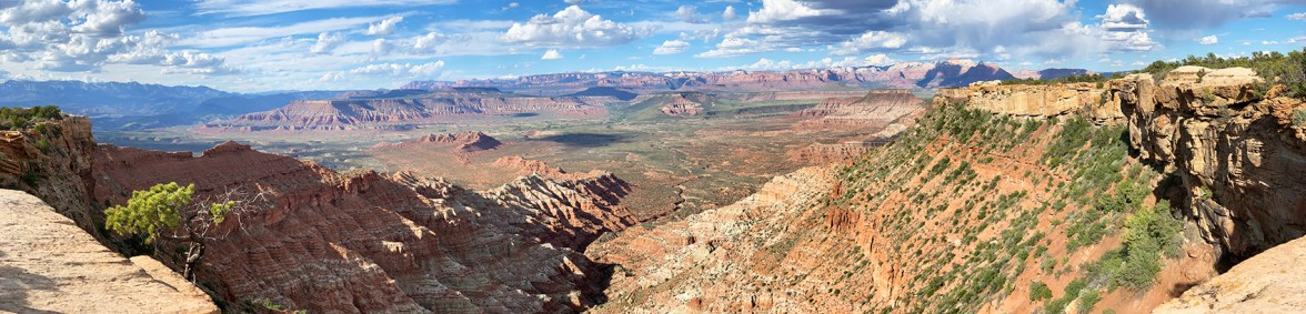 Panoramic View During A Zion UTV Tour