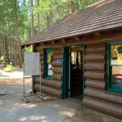 Cedar Grove Visitor Center Entrance