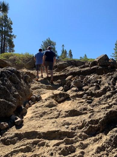Climbing Eagle Rock