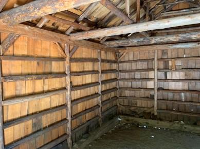 Inside Knapp's Cabin