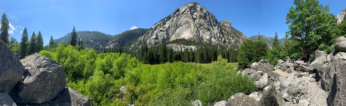 Panoramic View of Zumwalt Meadow