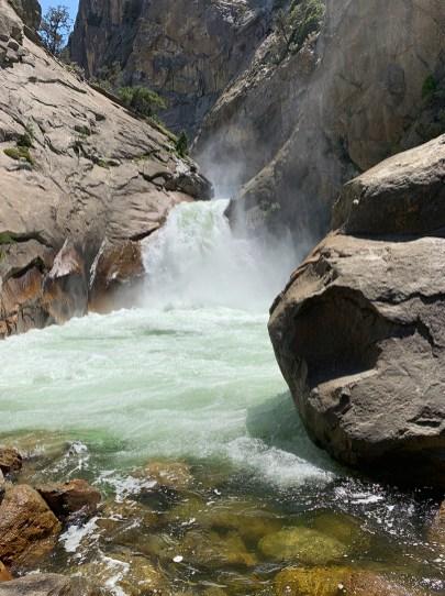 Roaring River Falls at Kings Canyon National Park