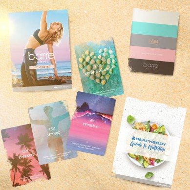 Barre Blend Affirmation Cards