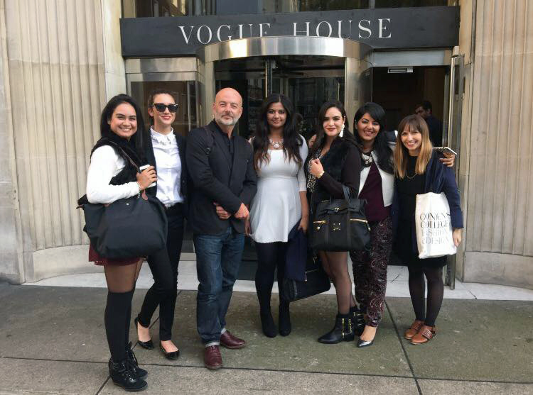 Conde Nast College of Fashion Design Vogue House Paul Tierney
