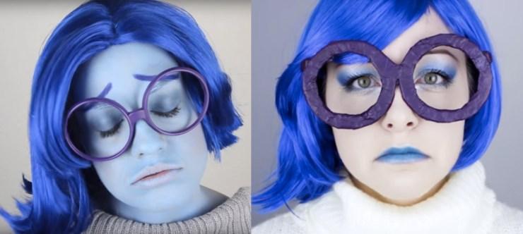 Sadness Halloween Costume Idea Inside Out