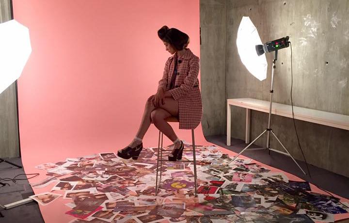 Instituto Marangoni London Fashion Collection Sunna Naseer Shoot
