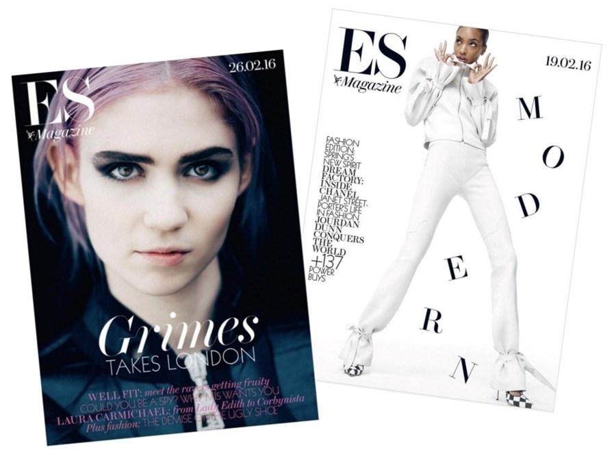 February Favourites ES Evening Standard Magazine Front Cover