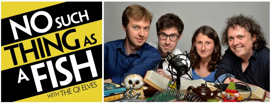 January Favourites No Such Thing As A Fish QI Elves Podcast