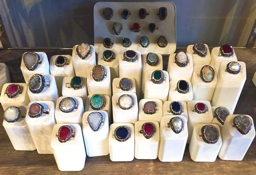 ELA London Knightsbridge Jewellery rings Fashion Store Opening
