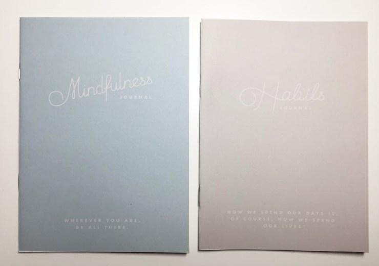 Habits Happy Healthy Kikki.K Box Mindfulness Habits Journals